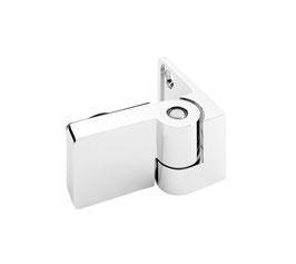 Duschtürband Ogul Glas-Wand 90° nach außen öffnend DIN rechts mit Hebe-Senk-Funktion