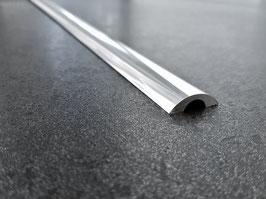 Alu-Schwallprofil  runde Form; 20 x 6 mm; Länge: 100 cm, SDT980