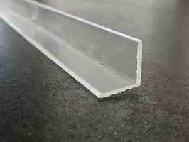 Plexiglas-L-Winkelprofil 10x10 mm oder 15x15 mm oder 20x20 mm, Art.Nr. 8070/8080/8120