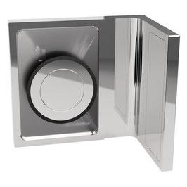 Serie SM-Kim, Winkelverbinder Wand/Glas 90°