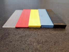 Distanz-Unterlagen aus Kunststoff für rahmenlose Glasduschen