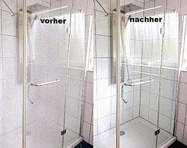 Kristhal Reinigungs-Set für hartnäckige Verkrustungen von Duschabtrennungen aus Glas und von Fliesenbelägen, Art.Nr. 1615