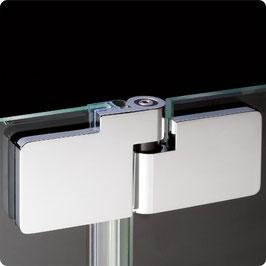 Serie B-Line, Pendel-Glas-Glas-Scharnier (Tür an Glasscheibe) mit Hebe-Senk-Funktion - HSPB180