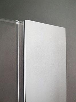 U-Profil für Glas-Trennwände zum Einschieben mit Silikonverklebung; 35 mm; Art.Nr. 040141