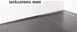 Fliesen Gefälleprofil für Wand; Edelstahl K220 geschliffen; Art.Nr.: GPW-K220