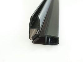 schwarze Tür-Magnetdichtung 90° (1 Paar), für 6 und 8 mm universal, Art.Nr. 6072-B/6082-B