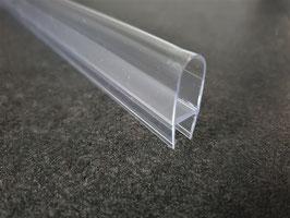 Balgdichtung (Ballondichtung) für Duschtür mit 18 mm Ballon, für sehr große Lücken - Art.Nr. 007A