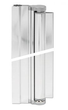 drehbares Duschtür-Wandprofil für 6 oder 8 mm Glasdicke, Serie BO-74