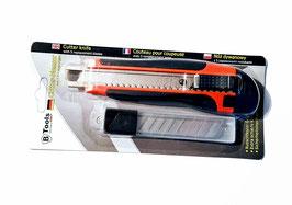 Cuttermesser, 18 mm, mit 5 Ersatzklingen; für den Zuschnitt von Duschdichtungsprofilen, Art.Nr. 745118