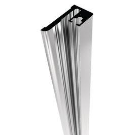 Magnetträgerprofil für Nischensituation zum Aufstecken einer Duschtürdichtung, Länge: 2000 oder 2500 mm