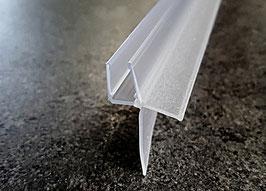 Dusch-Türdichtung mit anpassbarer langer Lippe und Abtropfleiste - 5160