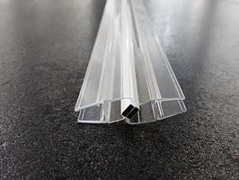 Tür-Magnetdichtung 180° (Anschlag aus 2x 45° Magnetdichtung = 1 Paar), für 6 und 8 mm universal, Art.Nr. 6072 (6082)