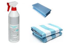 Kristhal Top-Reinigungs-Set für leicht verschmutzte Oberflächen von Duschgläsern, Art.Nr. 0307