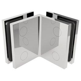 Serie SM-Elena, Winkelverbinder Glas/Glas 90°