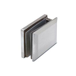 Winkel, Glas/Wand, V2A, für Glasstärke 8 - 12 mm, Art.Nr. 4115
