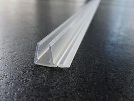 Schiebetürdichtung (Überlappungsdichtung) senkrecht, für 6 und 8 mm universal, Art.Nr. 5211