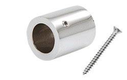 Wandhalter für Stabistange 19 mm, 90°, zylindrische Form; Art.Nr. S12