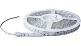 Barthelme LED-Streifen mit offenem Kabelende, 24V, 500 cm (kürzbar an den Markierungen) oder ca. 250 cm (Zuschnitt), Kalt-Weiß, Warm-Weiß oder RGB-Farben