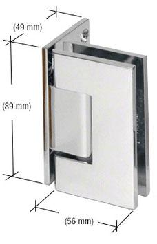 Serie Geneva, Pendel-Wand-Scharnier, eckig - GEN044, für Wandmontage, einseitige Anschraubplatte