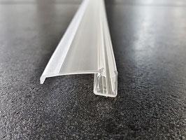 """Schiebetürdichtung waagrecht mit ca. 25 mm """"Dächlein"""" als Abtropfleiste, 100 cm,  für 6 und 8 mm universal, Art.Nr. 5329"""