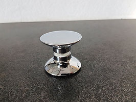 Dusch-Türgriff, rund, Form 1 für klappbare Falttüren, mit 16 mm Überstand, Art.Nr. 500260278
