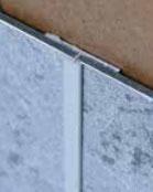 Verbindungsprofil Alu, 2550 mm, hochglanzeloxiert oder matt eloxiert