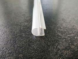 Streifdichtung (Ballondichtung) schmaler Ballon mit kurzem Glaseinstand (ca. 5 mm), Art.Nr. PCR8S