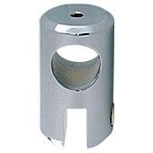 Glashalter für Stabistange 19 mm mit durchgehender Lochbohrung (beidseitig offen); Art.Nr. S6/S7