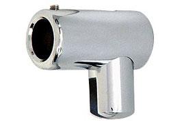 drehbarer Glashalter für Stabistange 19 mm, einseitig geschlossen; Art.Nr. S4/S5