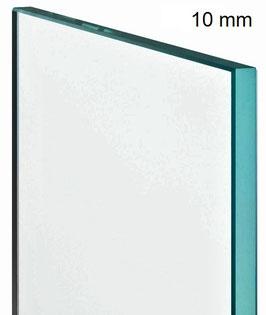 ESG Einscheiben Sicherheitsglas für Duschtrennwand; Klarglas; Dicke 10 mm