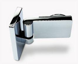 Serie Eido S40, Scharnier Glas-Wand 90° mit Hebe-Senk Mechanismus  DIN links außen öffnend, Art.Nr. 402001