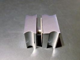 Dusch-Türgriff, eckig für klappbare Falttüren, einseitig 11 mm Überstand, Art.Nr. 05.0566