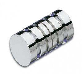 Dusch-Türgriff, zylindrisch mit schmaler Rille, 30 mm, Art.Nr. 3722