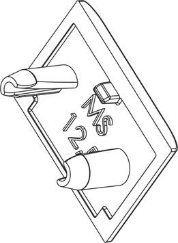 Endkappen für LED U-Profil (Alu) mit Verfliesungsschenkel