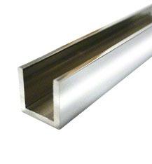 Aluminium U-Profile, diverse Größen und Oberflächen, Art.Nr. SDCD