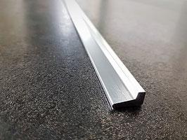SM Schwallschutzprofil Länge 1000 mm; Art.Nr. 5001, Alu glänzend