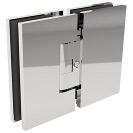 Serie SM-Lea, Pendeltürscharnier Glas-Glas 180°