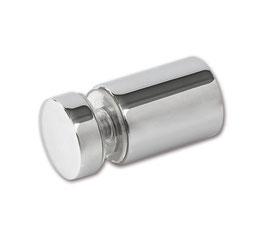 Glasanschluss in Glasbohrung, rund, ø12 mm, Messing glanzverchromt, 90°, Art.Nr. BO5213678