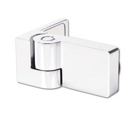Duschtürband Ogul Glas-Wand 90° nach außen öffnend DIN links mit Hebe-Senk-Funktion