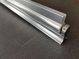 drehbares Duschtür-Wandprofil für 6 oder 8 mm Glasdicke, Serie NLO68-rund