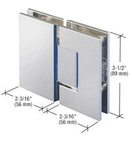 Serie Geneva, Pendel-Glas-Glas-Scharnier, eckig - GEN180, 180°