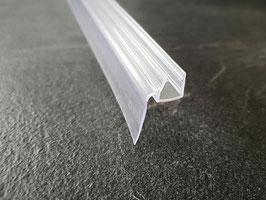 Dusch-Türdichtung mit seitlich befestigter langer Wasserabweislippe, 100 cm - Art.Nr. 002