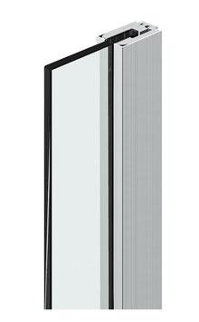 Klemmprofil-Set mit eckigen Abdeckprofilen, Tpy PS für Glasdicke 6, 8 und 10 mm; Art.Nr. 8884