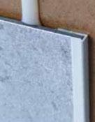 Abschlussprofil Alu, 2550 mm, hochglanzeloxiert oder matt eloxiert