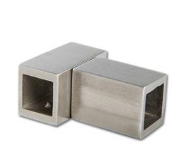 T-Verbinder, Edelstahl poliert oder gebürstet, 15 x 15 mm, Art.Nr. 5420251