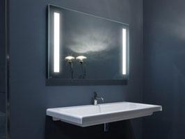 Bad Leuchtspiegel nach Wunschmaß bis 160 x 80 cm, Typ Milano LED T5