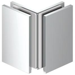 Serie SM-Lea, Winkelverbinder Glas/Glas 90°