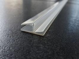 Tür-Anschlagdichtung Glas-Glas 180°, für 6 und 8 mm universal, Art.Nr. 5080