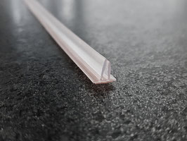 Selbstklebende, durchsichtige Vinyldichtung mit zwei Schenkeln für Spalten bis max. 8 mm - SDTDFT2