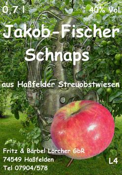 Apfelschnaps Jakob-Fischer, 40%